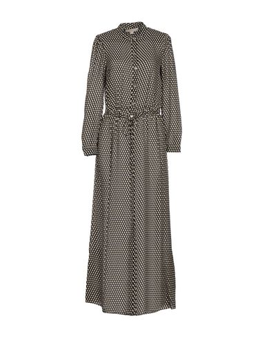 Michael Michael Kors Long Dresses In Black