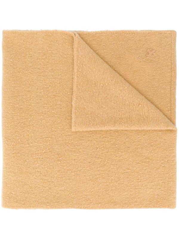 Kenzo Men's Beige Wool Scarf