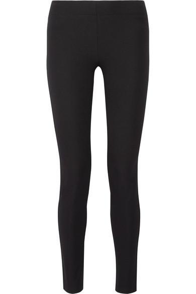 Joseph Stretch-gabardine Leggings In Black