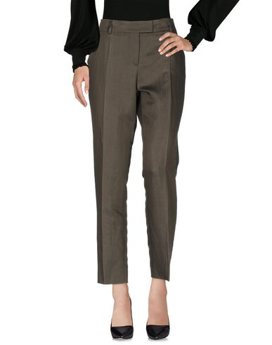 M Missoni Casual Pants In Military Green