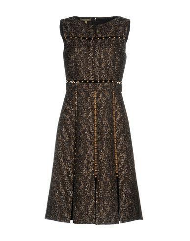 Michael Kors Knee-length Dresses In Dark Brown