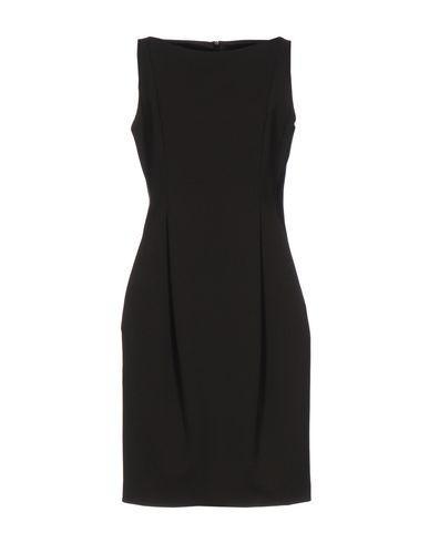 Moschino Knee-length Dresses In Dark Brown