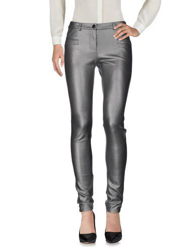 Pinko Casual Pants In Silver