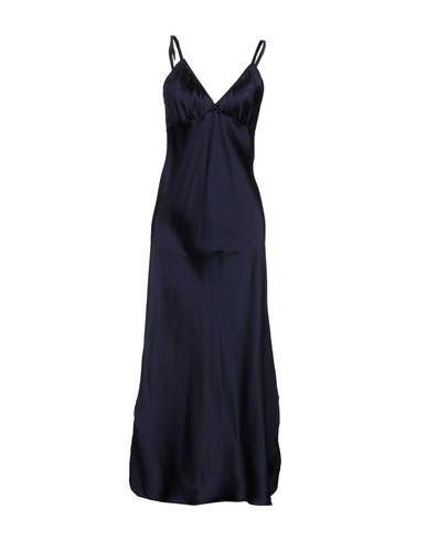 Dondup Long Dresses In Dark Blue
