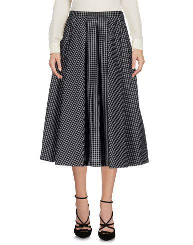Michael Kors Midi Skirts In Black