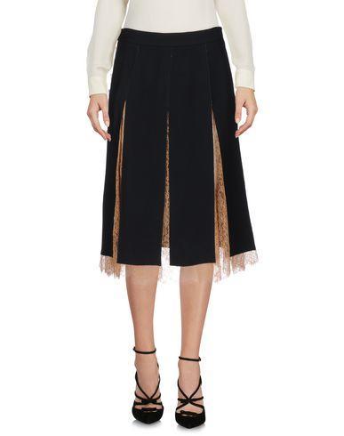 Michael Kors Knee Length Skirt In Black