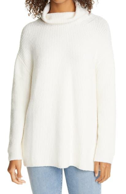 Line Gretchen Cowl Neck Sweater In Powder