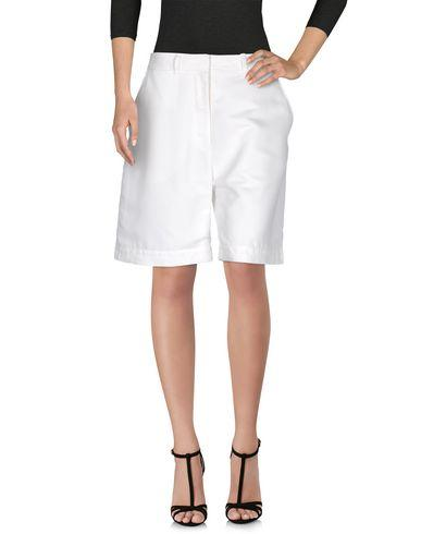 Acne Studios Bermudas In White
