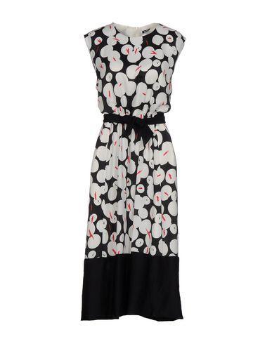 Jil Sander 3/4 Length Dress In White