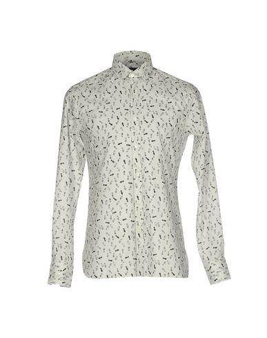 Lanvin Patterned Shirt In Light Grey