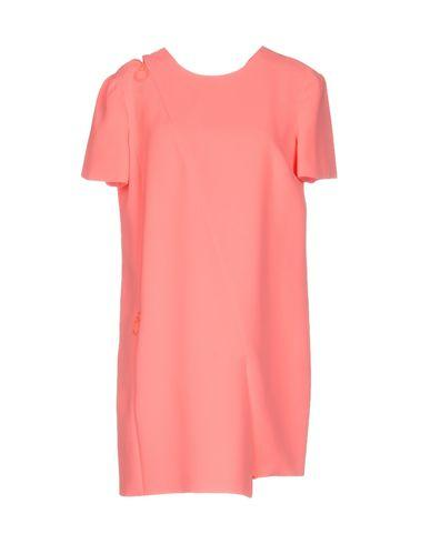 Versace Short Dress In Salmon Pink