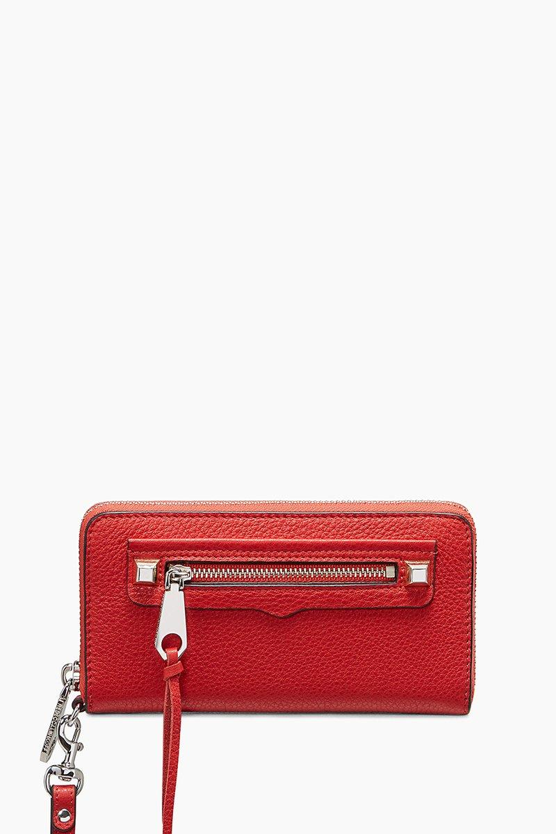 Rebecca Minkoff Regan Phone Wallet | Red Phone Wristlet Wallet In Fire Engine