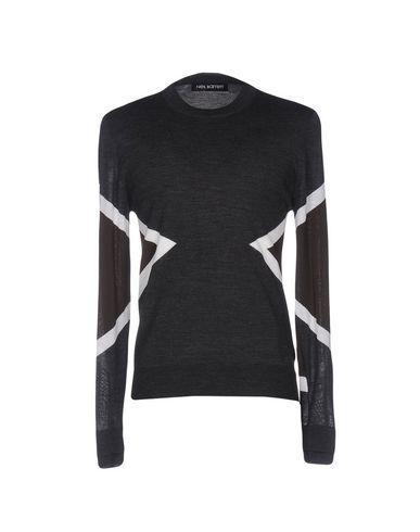 Neil Barrett Sweaters In Steel Grey