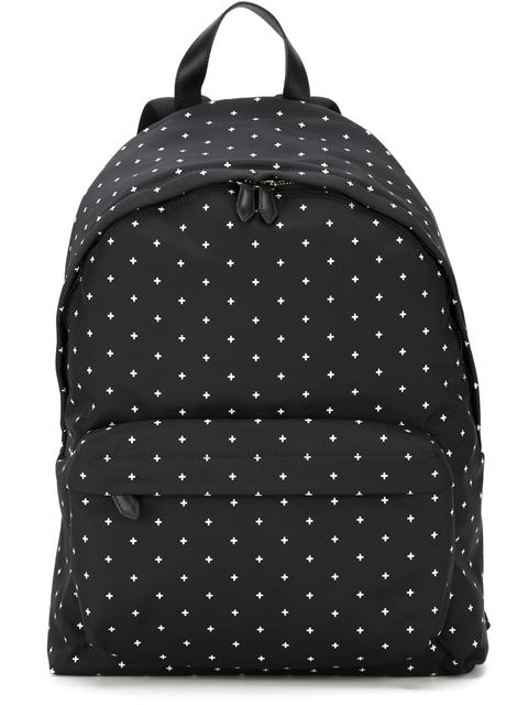 Givenchy Canvas Backpack - Black In Black/white