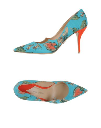 Paul Andrew Pumps In Turquoise