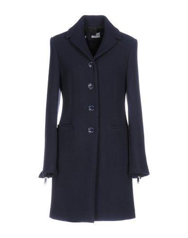 Love Moschino Coat In Dark Blue