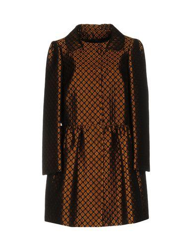 Red Valentino Overcoats In Brown