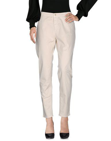 Blumarine Casual Pants In Ivory