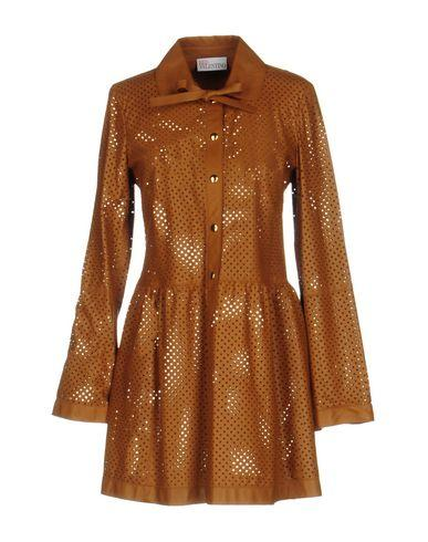 Red Valentino Short Dresses In Brown
