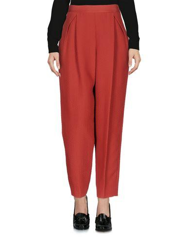 M Missoni Casual Pants In Brick Red