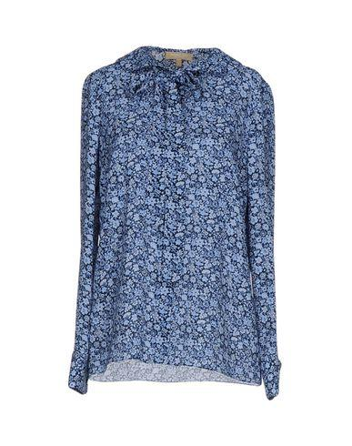 Michael Kors Floral Shirts & Blouses In Azure