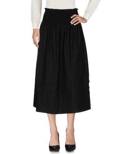 Red Valentino Midi Skirts In Black