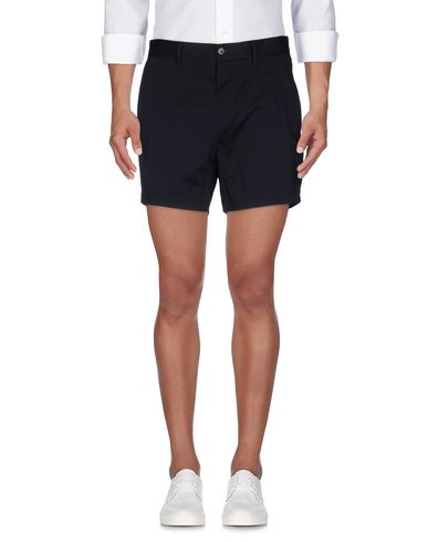 Acne Studios Shorts In Dark Blue