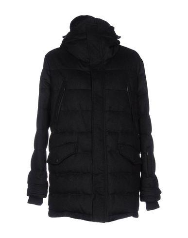 Dolce & Gabbana Quilted Drill Wool Down Jacket In Black