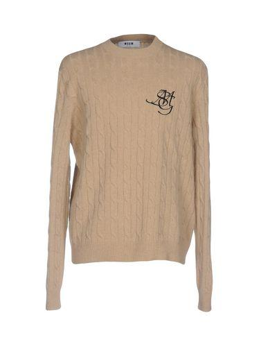 Msgm Sweaters In Camel