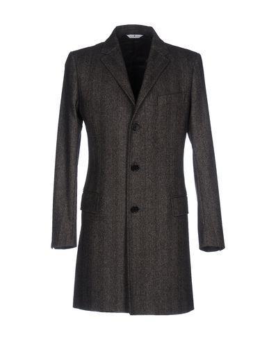 Pierre Balmain Coats In Dark Brown