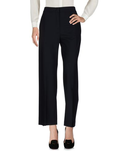 Cedric Charlier Casual Pants In Dark Blue