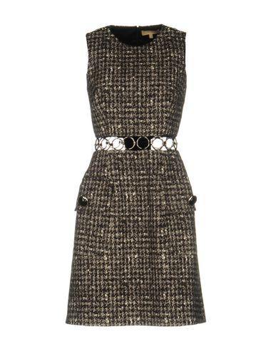 Michael Kors Short Dresses In Steel Grey