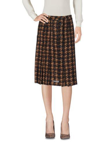 Michael Kors Knee Length Skirts In Brown