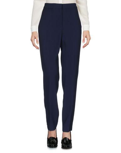 Msgm Casual Pants In Dark Blue