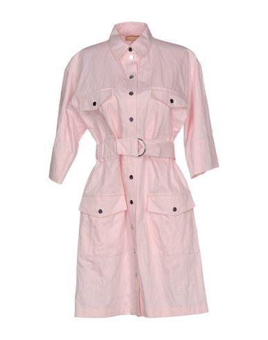 Michael Kors Shirt Dress In Pink