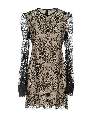 Alexander Mcqueen Short Dresses In Black