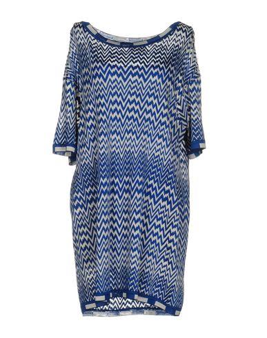 Missoni Short Dress In Blue
