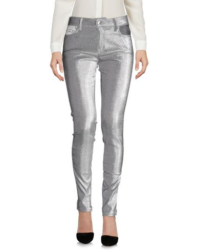 Love Moschino Casual Pants In Silver