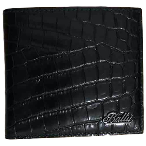 Pre-owned Bally Black Leather Small Bag, Wallet & Cases