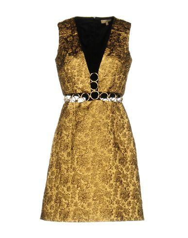 Michael Kors Short Dresses In Gold