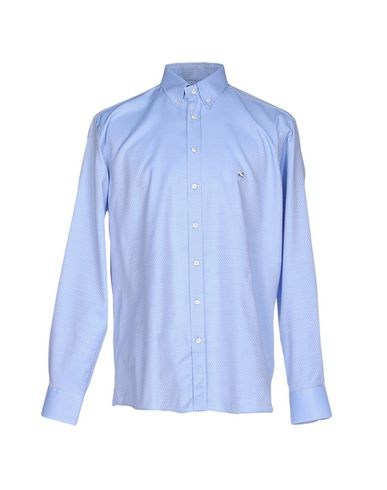 Etro Patterned Shirt In Sky Blue