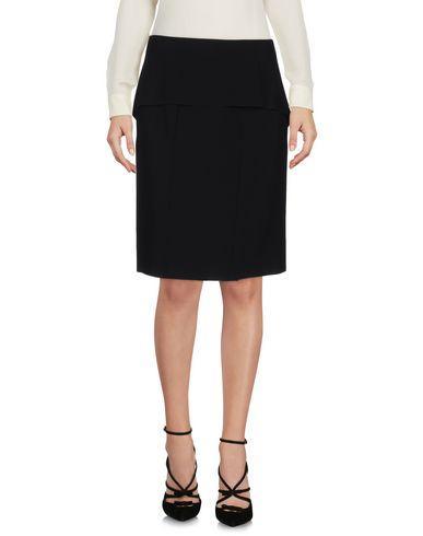 Cedric Charlier Knee Length Skirt In Black