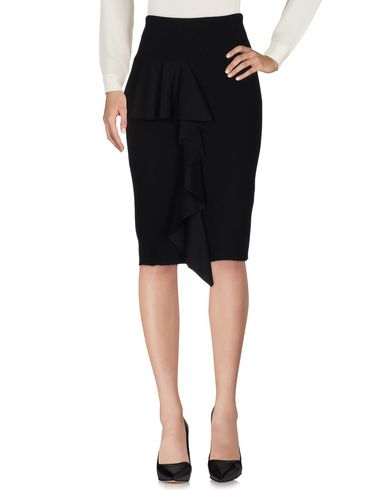 Dondup 3/4 Length Skirts In Black