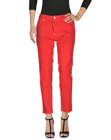 Dsquared2 Denim Pants In Red