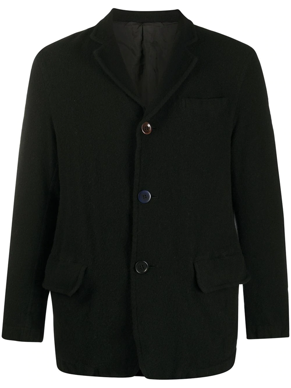 Undercover Single-breasted Fitted Blazer In Black