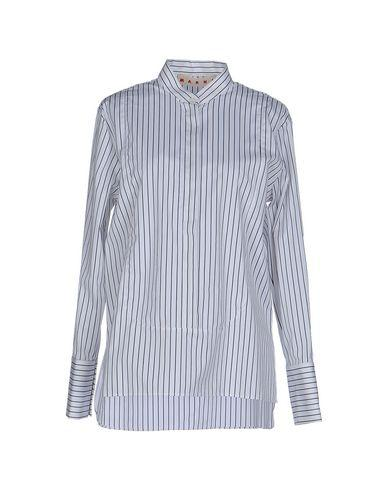 Marni Striped Shirt In White