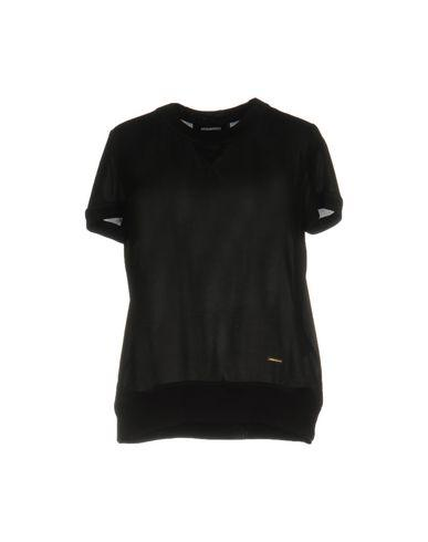 Dsquared2 Silk Shirts & Blouses In Black