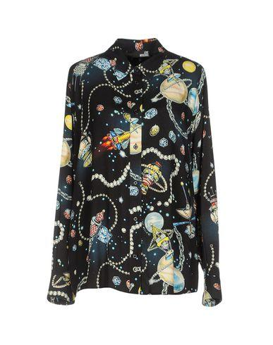 Love Moschino Patterned Shirts & Blouses In Black