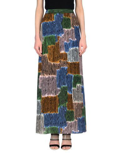 M Missoni Long Skirt In Pastel Blue