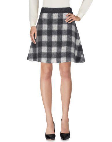 Balenciaga Knee Length Skirt In Grey